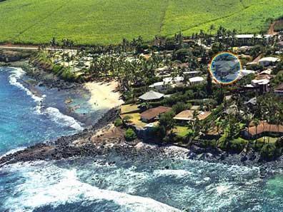 Hale Makai 6 BDR Beach Home- Aerial - 6 BDR Beach Home in the Heart of North Shore Maui - Paia - rentals