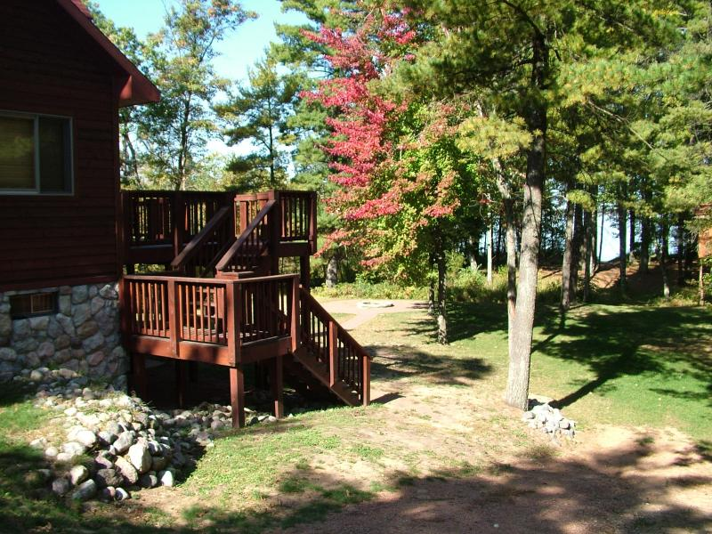 Sanctuary Shores on Castle Rock Lake, near WI Dell - Image 1 - Friendship - rentals