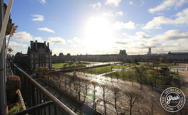 View on the Louvre - Tuileries Garden - The Best View in Paris! - Paris - rentals
