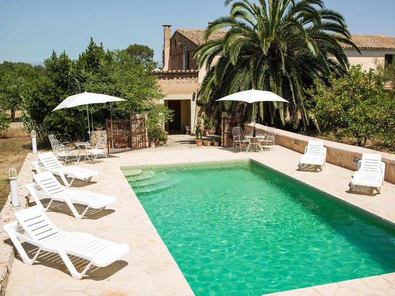 Swimming Pool. - Picturesque remodeled country house Mallorca. WiFi - Sineu - rentals