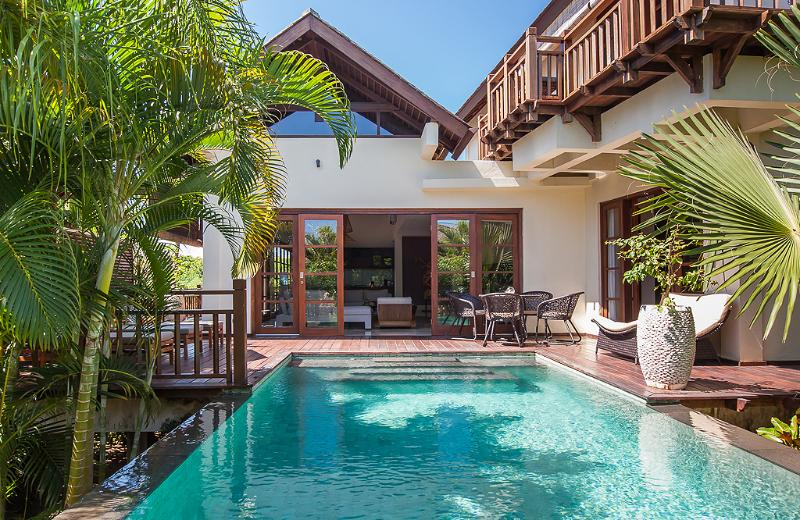 Villa Karma Manis' private pool with surrounded wooden deck - Villa Karma Manis w/beach club! - Ungasan - rentals