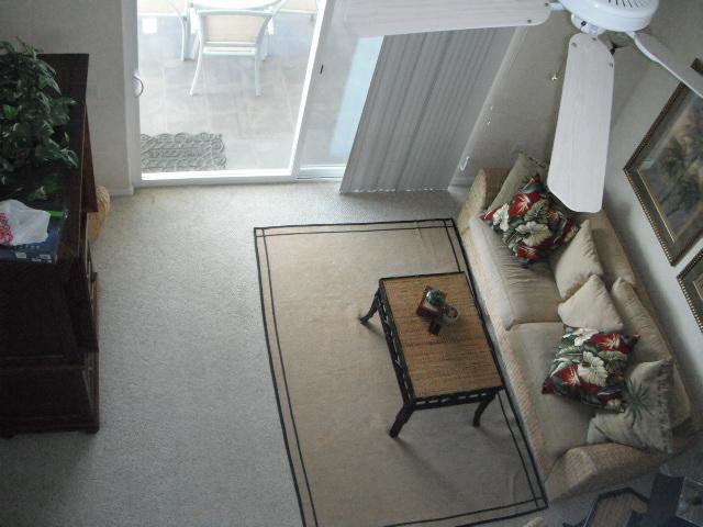 View from loft - Waikoloa Resort Condo at Fairways Villas with loft - Waikoloa - rentals