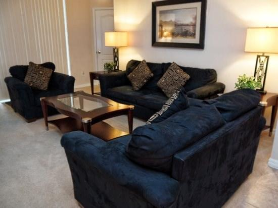 Living Area - WHI4P108ND 4 Bedroom Pool Home Near Parks in Orlando - Orlando - rentals