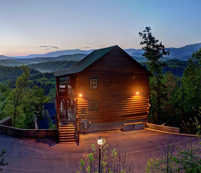 Magical Moose at Sunset - Magical Moose~7Br-Specials$ Elevator~Theater~MtnV - Pigeon Forge - rentals