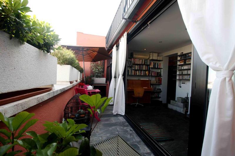 Terrace and hallway view - 2Bd Penthouse / Madrid / Barrio de Salamanca - Madrid - rentals