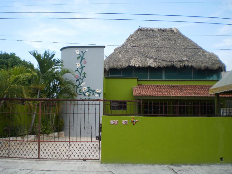 Entrance view of Property - Los Alcatraces Cozumel Downtown with Pool - Cozumel - rentals
