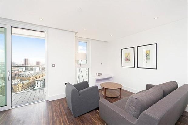 Living Area - Luxury Altitude Point 1 Bed Aprts - London - rentals