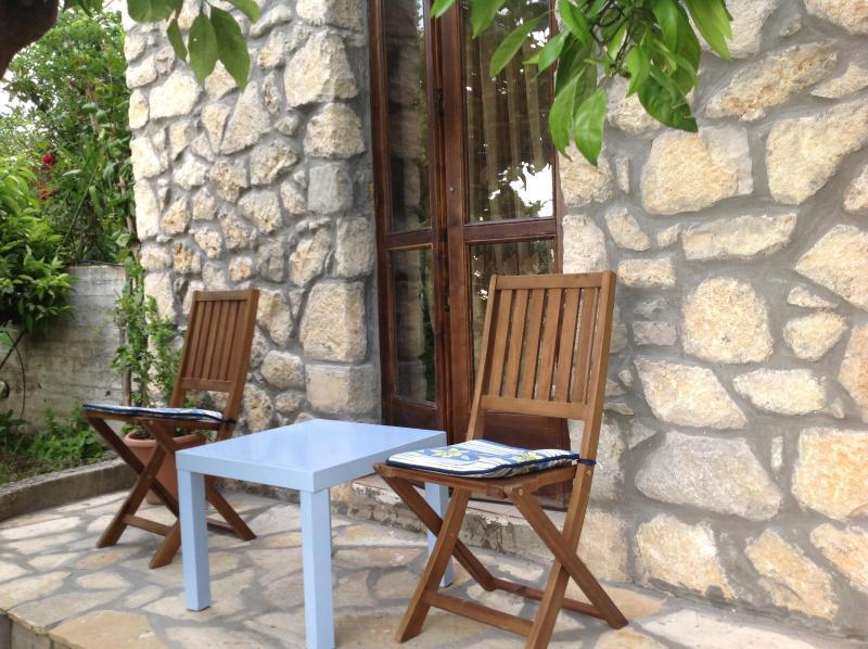 Panagia stone mezzonete with amazing view - Image 1 - Thassos - rentals