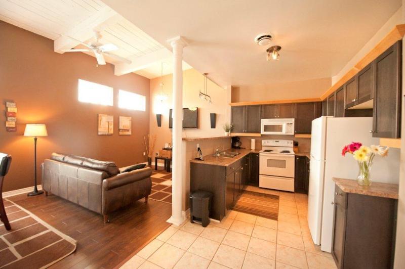 Open Concept Living Room and Kitchen - Junior Superior - Niagara Falls - rentals