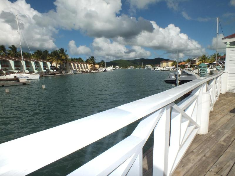 View from the deck - Lower Gatzby Apartment, South Finger Jolly Harbour - Antigua and Barbuda - rentals