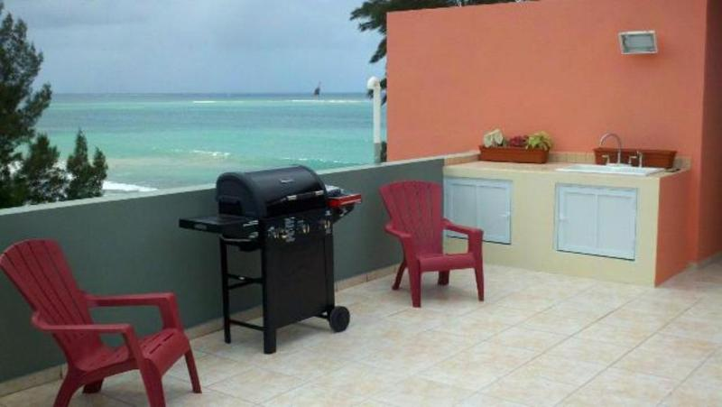 Private Rooftop Terrace - Rooftop Terrace! 2 Bedroom Condo On Luquillo Beach - Luquillo - rentals