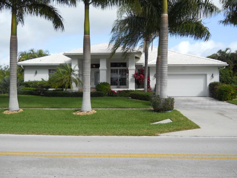 Front of Home from the Bald Eagle Sanctuary - Tigertail/Esplanade Pool/Spa  Wireless  Direct - Marco Island - rentals