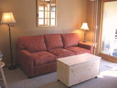 Living Area - Snow Creek Village - 48 - Sun Peaks - rentals