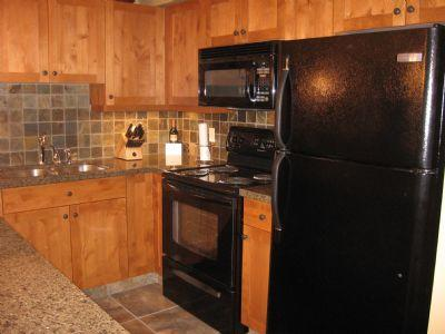 Full Size Kitchen - Settler's Crossing Condos - 68 - Sun Peaks - rentals
