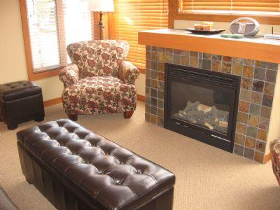 Fireplace - Settler's Crossing Condos - 62 - Sun Peaks - rentals