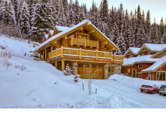 View from Street - Vacation Homes - Eagle Home - Sun Peaks - rentals