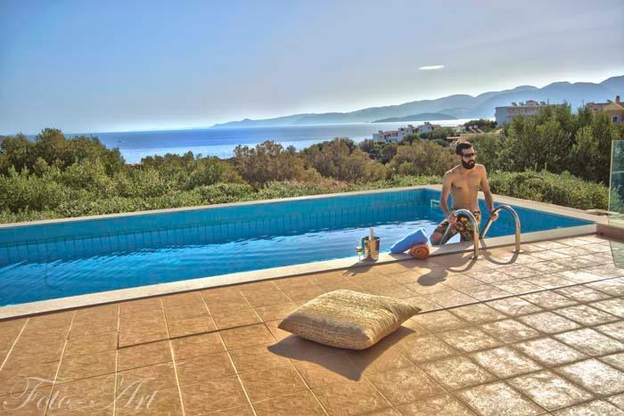 3 bedroom Villa Panorama in Elounda Crete - Image 1 - Elounda - rentals
