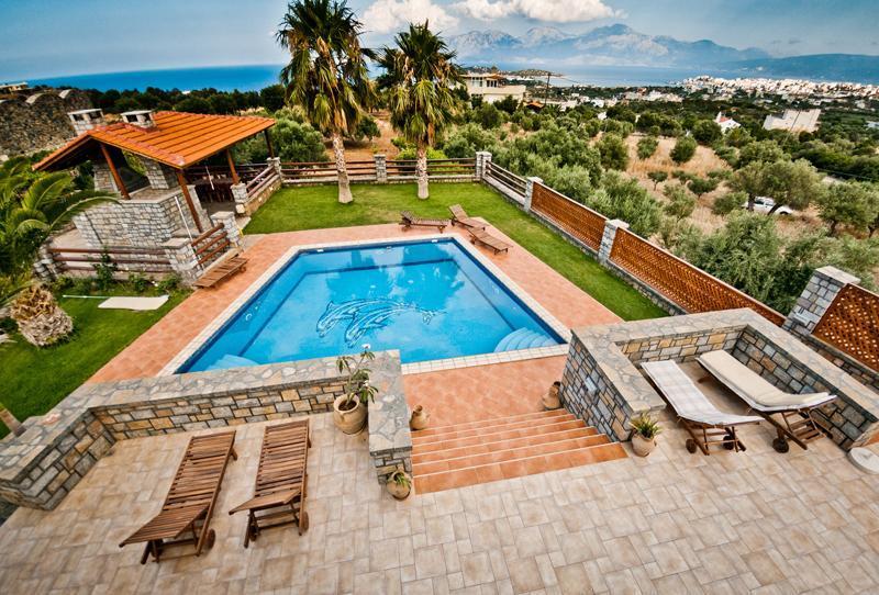 4 bedroom Villa Theano in Agios Nikolaos - Image 1 - Agios Nikolaos - rentals