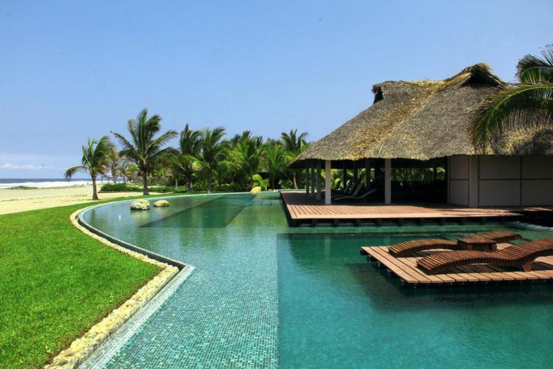 Pool / Club House - Casa6Olas in Puerto Escondido - Puerto Escondido - rentals