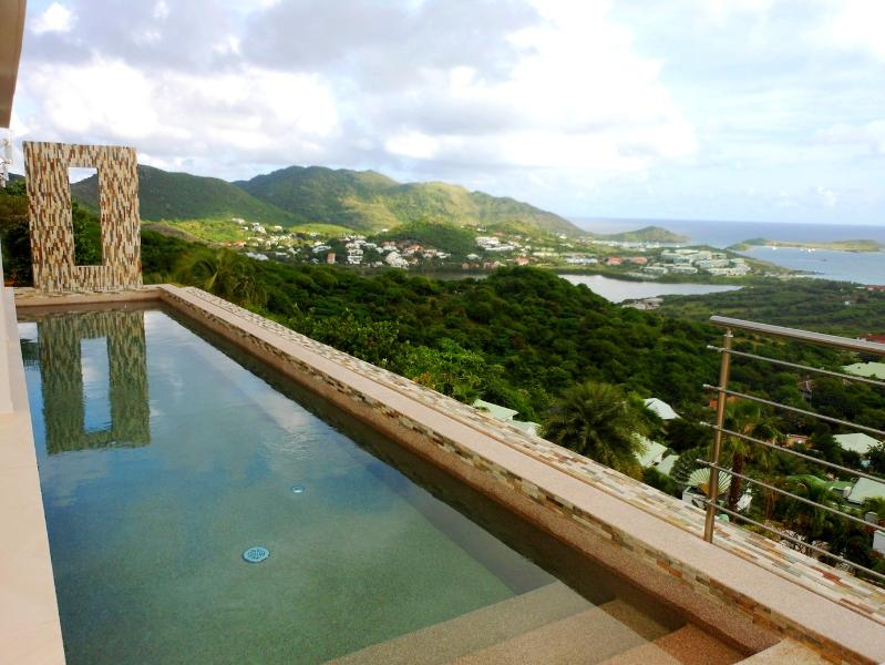 ORIENT SUNRISE... amazing views of the entire Orient Bay from this lovely new contemporary villa - Image 1 - Orient Bay - rentals