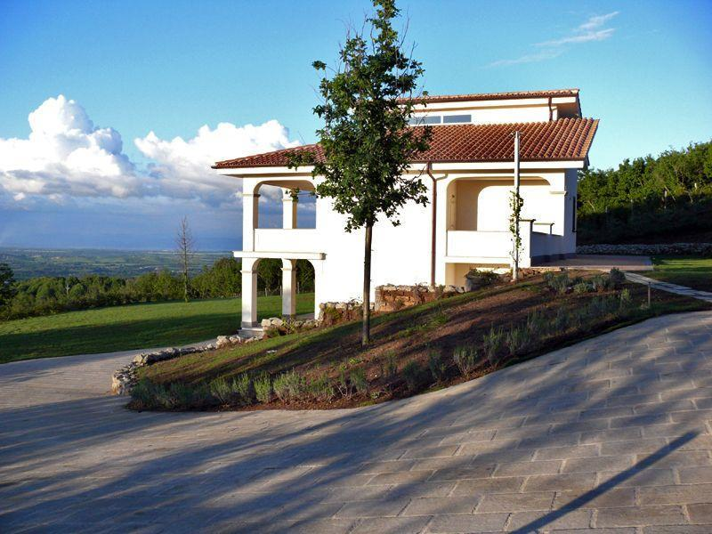 Villa Panorama - Villa Panorama, nearby Rome, pool, 10 pers, by Lake and golf, panoramic views - Bassano Romano - rentals