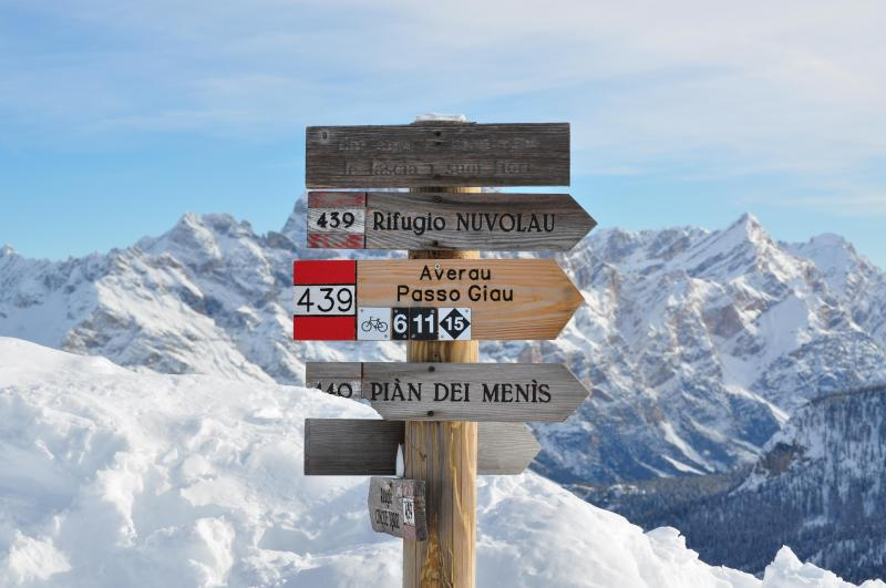 majestic view of our DOlomites - Only non smoker! New MTbikes and climbing gear for you! Fast WIFI - Cortina D'Ampezzo - rentals