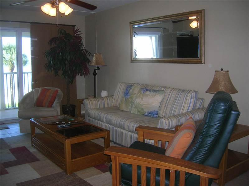 Gulf Front 2/Bedroom Vacation Rental.#106 - Image 1 - Fort Myers Beach - rentals