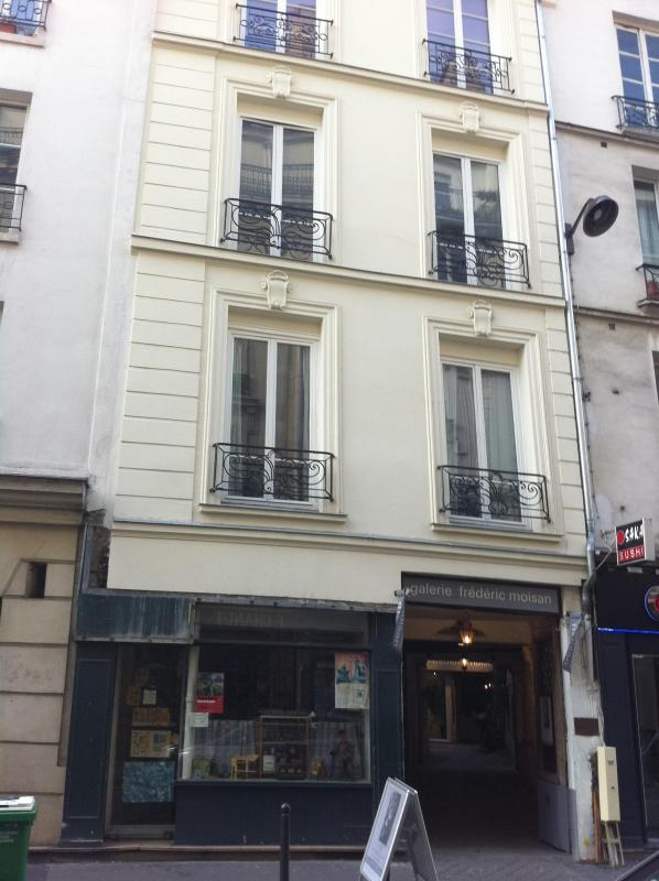 the bulding - CHARMING STUDIO  IN THE HEART OF THE LATIN QUARTER - Paris - rentals