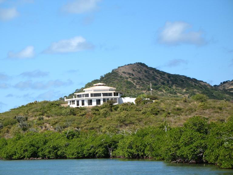 Waterview of house - 2 bedroom oceanfront home on Culebra, Puerto Rico - Culebra - rentals