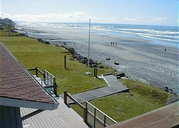 Beach view - Sea Star South - Mar. Midweek 3rd Night Free (exc. - Lincoln City - rentals