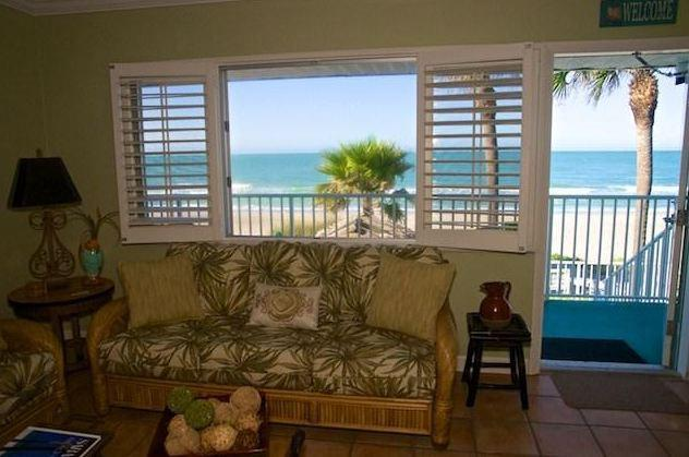 View from your living room - 1 BEDROOM, LONGBOAT KEY, DIRECTLY ON THE BEACH - Longboat Key - rentals