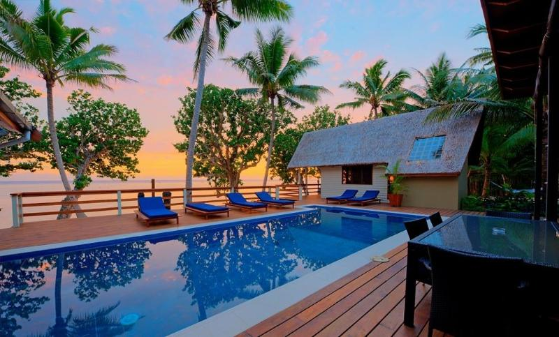 evening sunsets - Coral cove absolute beach front private villa - Sigatoka - rentals