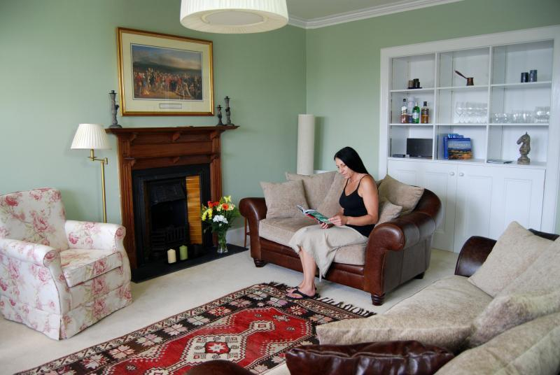 Living room - Howard Place 12, St Andrews, Fife, Scotland - Saint Andrews - rentals