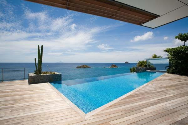 Exquisite villa opens to ocean view and all day sun WV WIK - Image 1 - Gustavia - rentals