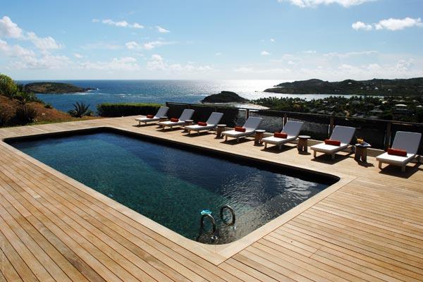Ultra modern spacious villa with Olympic sized pool WV COS - Image 1 - Mont Jean - rentals