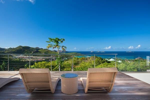 Lovely contemporary villa with spectacular views WV DIA - Image 1 - Saint Jean - rentals