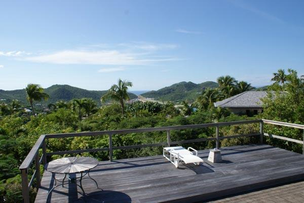 Located in the hills of St. Jean with views of the ocean in the distance WV KAT - Image 1 - Saint Jean - rentals