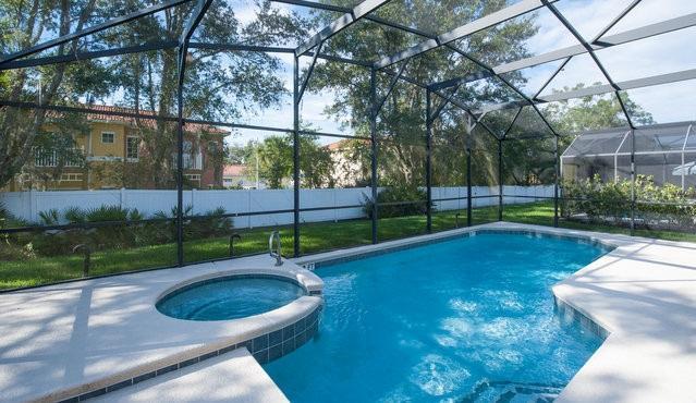 SEASONS-(1075SB) - 5BR 4.5BA Home, 3 Master Suites, Pool & Spa, close Disney - Image 1 - Kissimmee - rentals