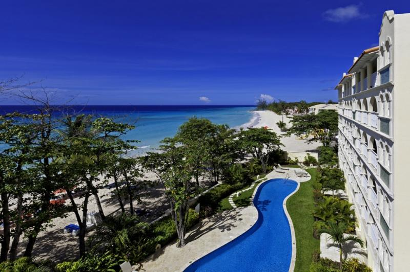 Sapphire Beach 407 at Dover Beach, Barbados - Beachfront, Gated Community, Pool - Image 1 - Christ Church - rentals