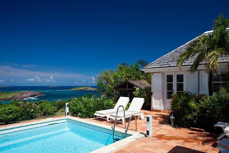 Le Roc at Petit Cul de Sac, St. Barths - Walking Distance To Beach, Ocean View, Pool - Image 1 - Petit Cul de Sac - rentals