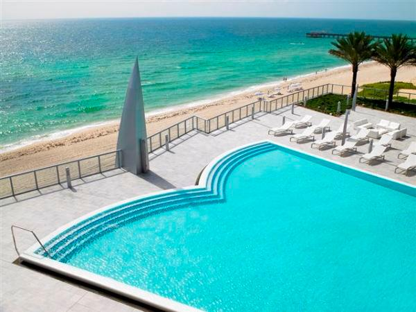 Pool - BEST BUILDING 3 BEDROOM- BEACHFRONT 36TH FL - Sunny Isles Beach - rentals