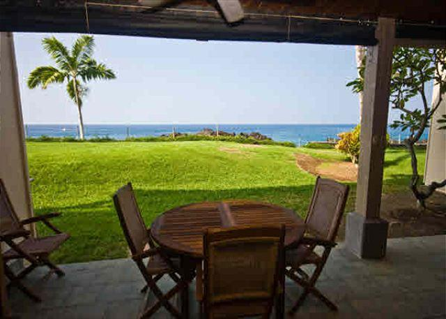 KKSR2103 DIRECT OCEANFRONT, Ground Floor, Wifi! - Image 1 - Kailua-Kona - rentals