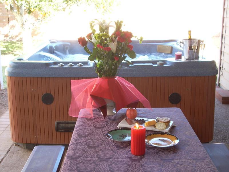 jacuzzi on porch - Scottsdale/Phoenix 3 bedroom 3 bath with jacuzzi - Phoenix - rentals