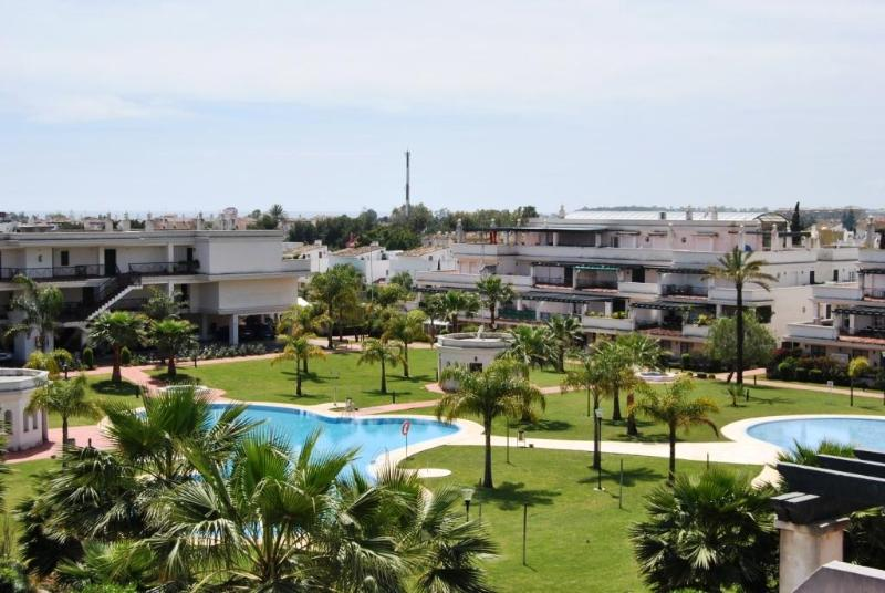 Terrace view - Tirrant 2 bedroom apartment close to Puerto Banus - Province of Malaga - rentals