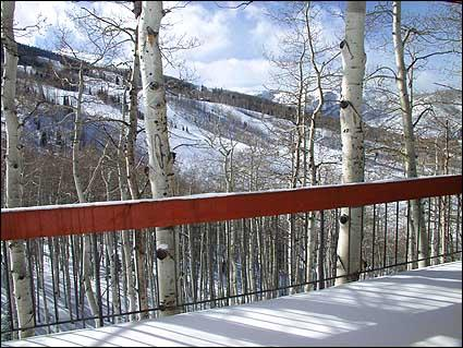 This spacious home features a large deck with stunning view of the slopes and surrounding mountains - Panoramic Views! - 2 Master Suites (2104) - Snowmass Village - rentals