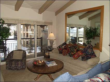 Nicely appointed living room - Great Location - Ski-in/Ski-out (2148) - Snowmass Village - rentals
