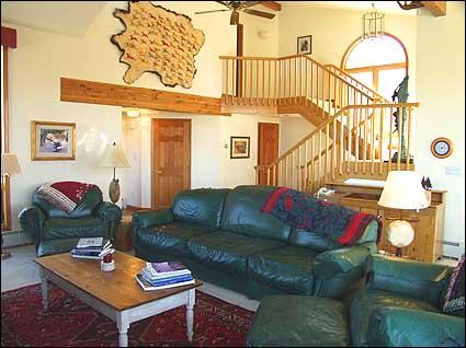 Spacious contemporary living area - Large Contemporary Home - Great Views! (2155) - Snowmass Village - rentals