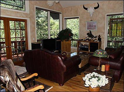 Rustic Living Room - Rustic Charm - River Location (4864) - Aspen - rentals