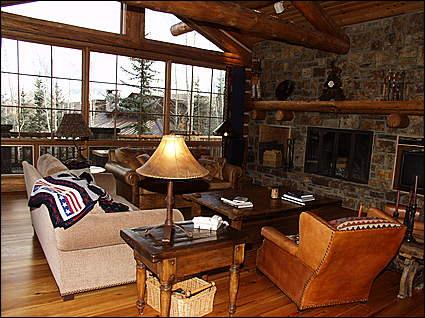 Large Open Living area - New Two Creeks Home - Ski In/ Ski Out (8858) - Snowmass Village - rentals