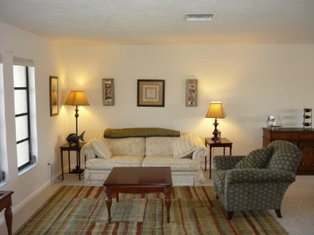 Beautiful Living Room - Great water access from this Island home ..2 blocks to beach ....perfect for - Marco Island - rentals